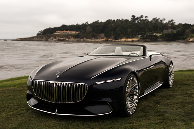 head turning car: vision mercedes-maybach 6 cabriolet