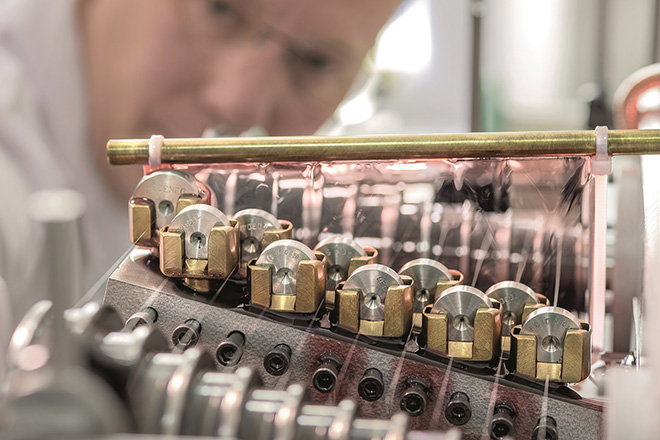 Hairspring production remains a key competency of the Villeret manufacture