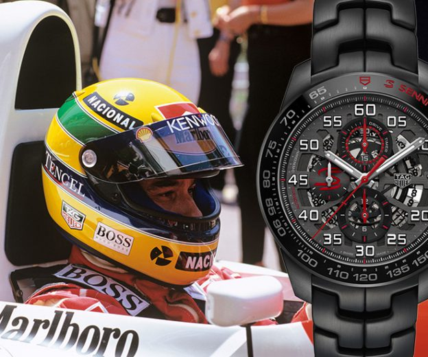 ebb90cea55459 New Luxury Watch  TAG Heuer Ayrton Senna Chronograph Limited Editions