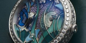 The Most Artistic Power Reserve Ever: Van Cleef & Arpels Lady Arpels Papillon Automate