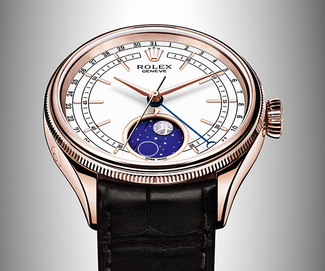 moon phase watch rolex cellini moonphase 2017 price