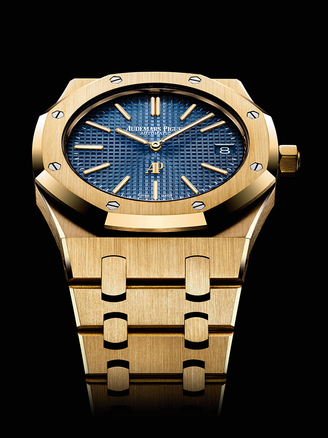 Audemars Piguet leads the way in disguising round watches as form watches... or is it vice versa?