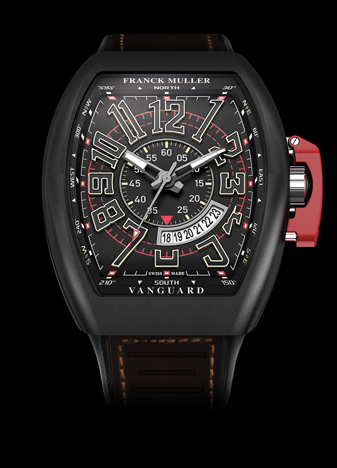 Franck Muller enjoyed a peak in the 90s and the early 2000s giving tonneau shaped watches a boost in popularity, pictured here, the Vanguard Fullback