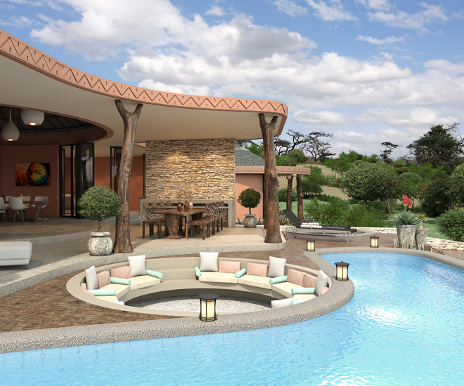 Luxury Property In South Africa: Thanda Royal Residences Offers An  Authentic Wildlife Experience
