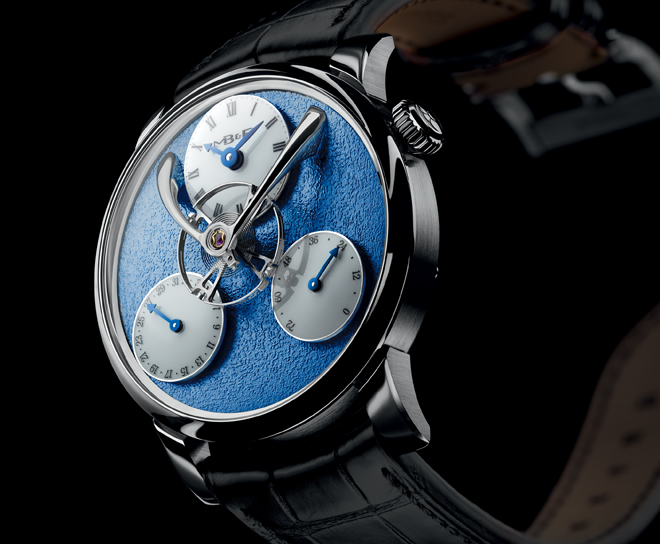 Legacy Machine Split Escapement was derived by the split escapement originally found on but largely unnoticed on the LM Perpetual