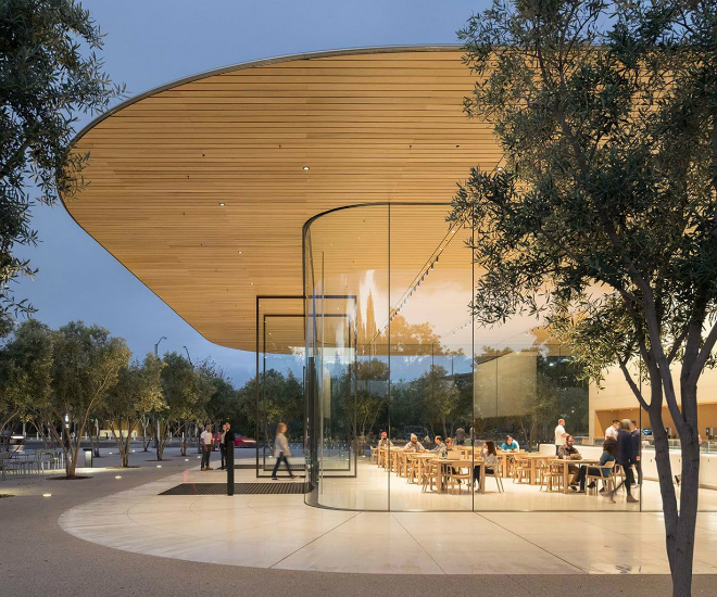 A Forward-Looking Pavilion: Apple Park Visitor Centre - LUXUO