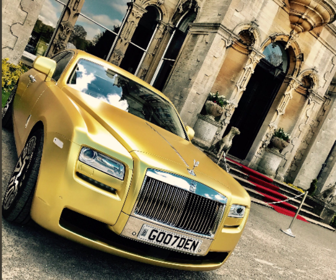 Gold Rolls Royce >> Buy This Gold Rolls Royce With Cryptocurrency Only