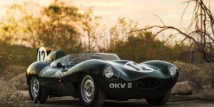 RM Sotheby's Unveiled Jaguar D-Type Ahead of Arizona Sale Next Year