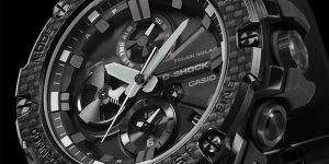New G-Shock Steel with Connected Engine Module and Analog Chronograph