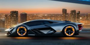 Lamborghini's Electric Car