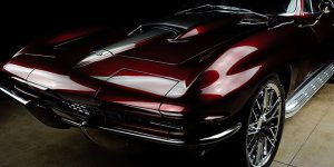 The Coolest Custom 1965 Chevrolet Corvette Coupe by County Corvette