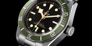 Tudor Black Bay in Green: A Harrods Special Edition