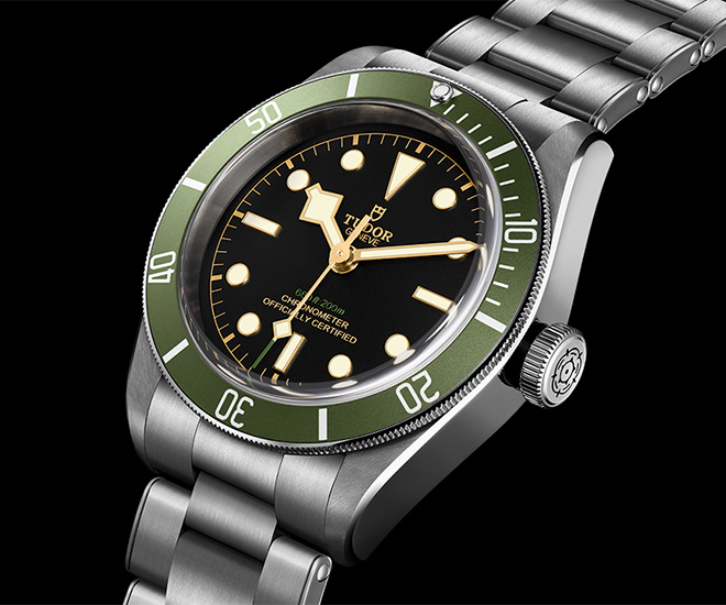 9fdafad2d87 Tudor Black Bay in Green  A Harrods Special Edition. Among watch lovers