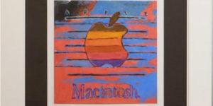 Andy Warhol: Apple's Classic Macintosh Logo to Auction