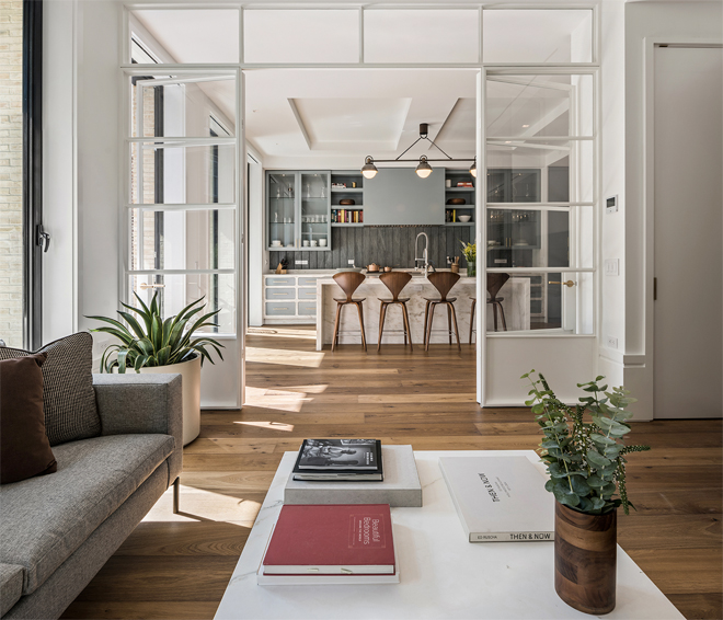 Apartments New York: Luxury New York SoHo Loft: 150 Wooster Loft No. 2
