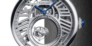 New Watch: SIHH 2018 Cartier Rotonde Double Tourbillon Mystérieux Squelette