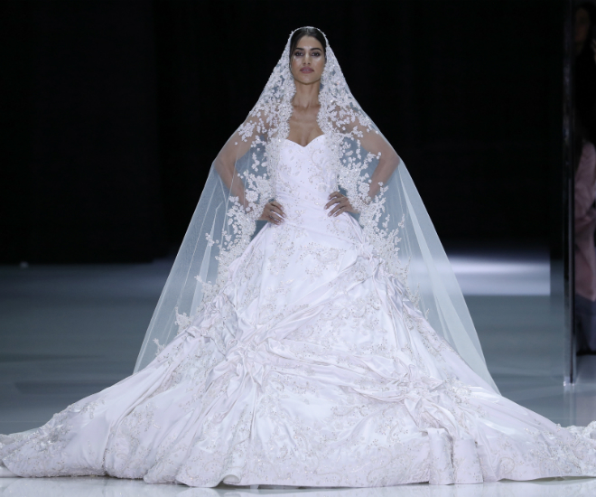 The Hottest Wedding Dresses From The Runway At Haute Couture Week ...