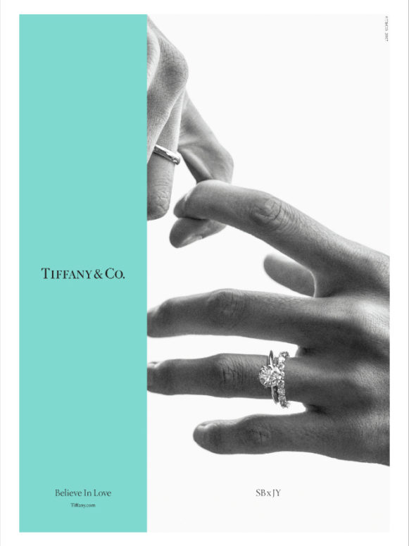 1a401bfeb088c Tiffany & Co. Celebrates the Power of Love in New Campaign - LUXUO