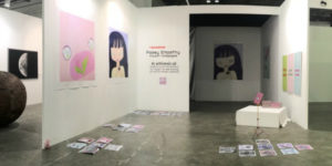 Poesy Liang debuted at Art Stage Singapore