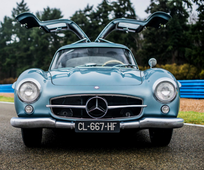 The 1954 Mercedes Benz 300 SL Gullwing Remained With Newman When He Moved  To Connecticut In The 1960s. It Wasnu0027t Until 1984, The Car (then In Silver  Finish) ...