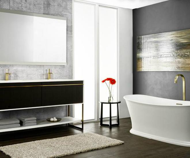 Art Déco Age: New Bathroom Collection