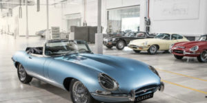 Jaguar Unveils E-Type Zero