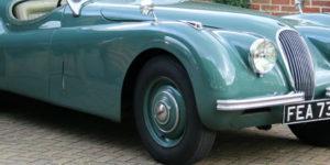 Classic Car: 1951 Jaguar XK120