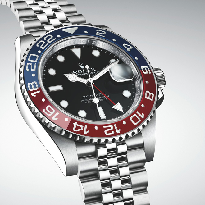 Baselworld 2018 Rolex new GMT-Master II in Oystersteel with a Jubilee bracelet