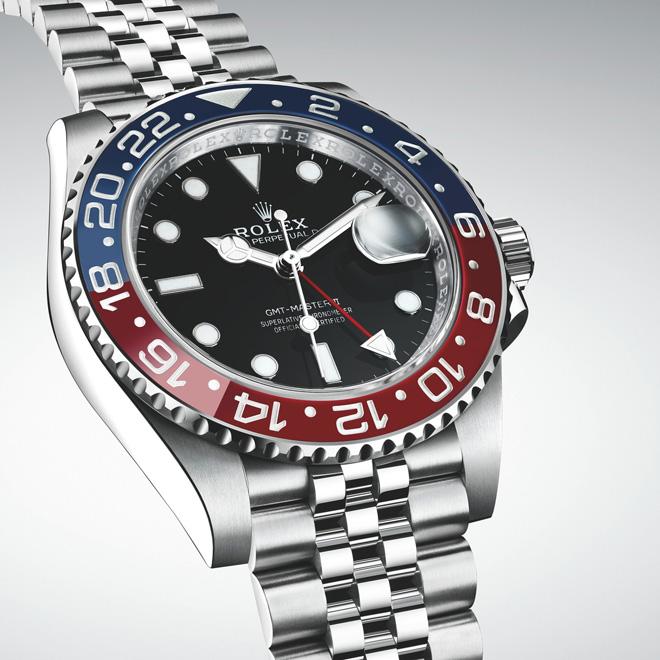 Baselworld 2018 Rolex new GMT-Master II in Oystersteel with a Jubilee bracelet