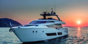 Ferretti Yachts 850: Seductive Luxury