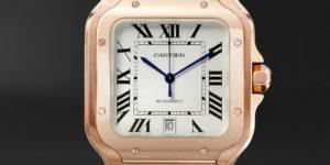 Iconic Timepiece: Cartier Santos X Mr Porter