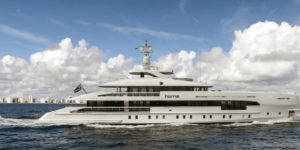 "Heesen's World's First FDHF ""Green"" Aluminium Hybrid"