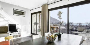 A Top Floor Duplex to Keep an Eye on in France