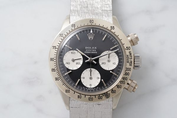 Unique white gold Rolex Daytona reference 6265