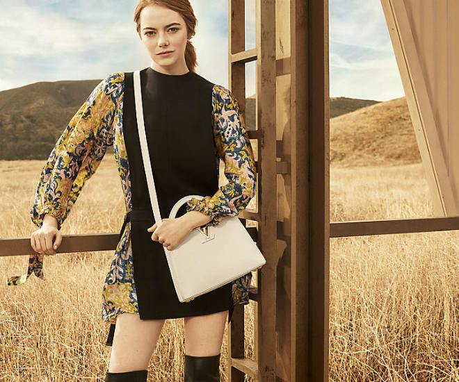 cacd6a07e61 Emma Stone Fronts Louis Vuitton's New