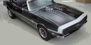 A Perfect Cruiser: 1968 Chevrolet Camaro Convertible