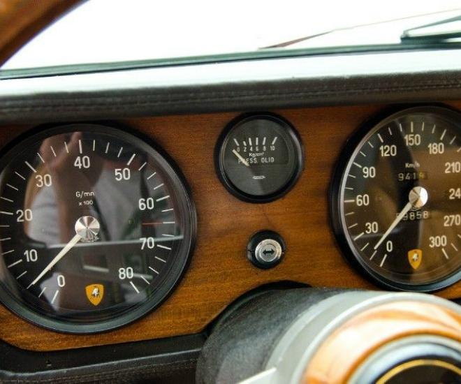 1969 Lamborghini Islero S Interior 3 Luxuo 660x550 Luxuo