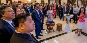 Glamourous Diplomatic Council Singapore Opening