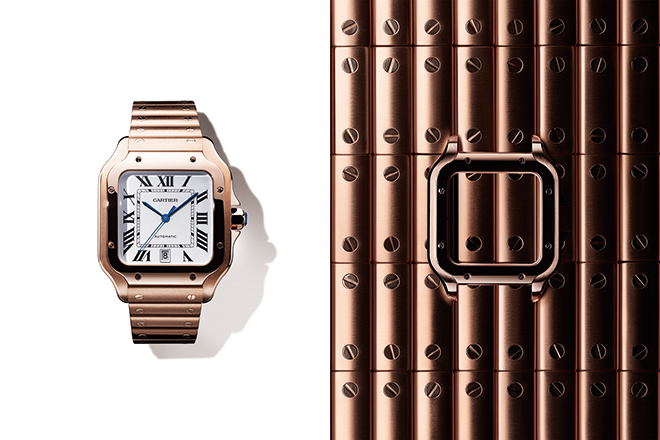 The new Santos de Cartier launched at SIHH 2018