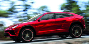 Lamborghini SUV: Hot Pursuit