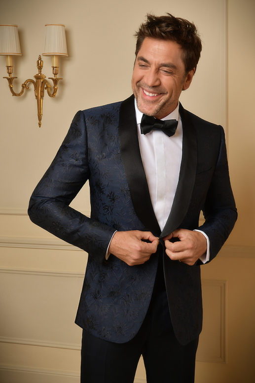 Javier Bardem in Ermenegildo Zegna Couture for 71st Edition of the ... 8745602f812