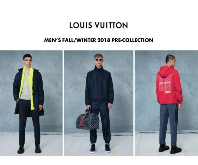 cd5d6e8ff963 Louis Vuitton is striking for Men s Pre-fall Collection 2018 - LUXUO ...
