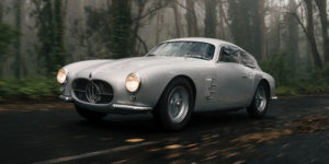 1956 Maserati Berlinetta Zagato to Auction for almost £4 Million
