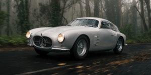1956 Maserati Berlinetta Zagato to Auction for almost £4 Million