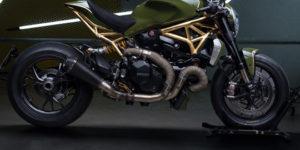 Diamond Atelier 24K Ducati Monster 1200R Motorcycle