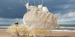 Theo Jansen's famed Strandbeests in Singapore thanks to Audemars Piguet