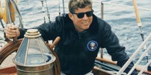 JFK's Leather Bomber Jacket