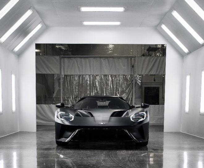 New supercar Ford GT Job 1