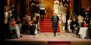 Karl Lagerfeld's silent cinema brings Moscow to Paris