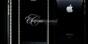 Continental 3G iPhones decked with emeralds